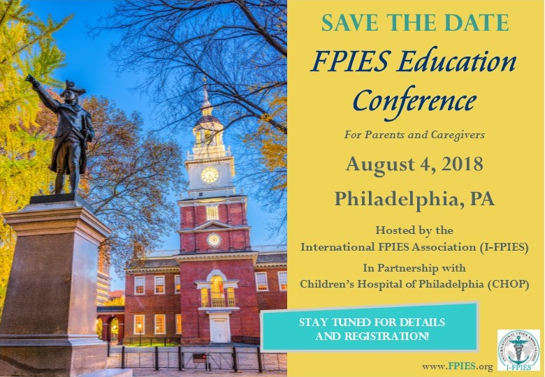 Help Set the Agenda for the FPIES Education Conference!