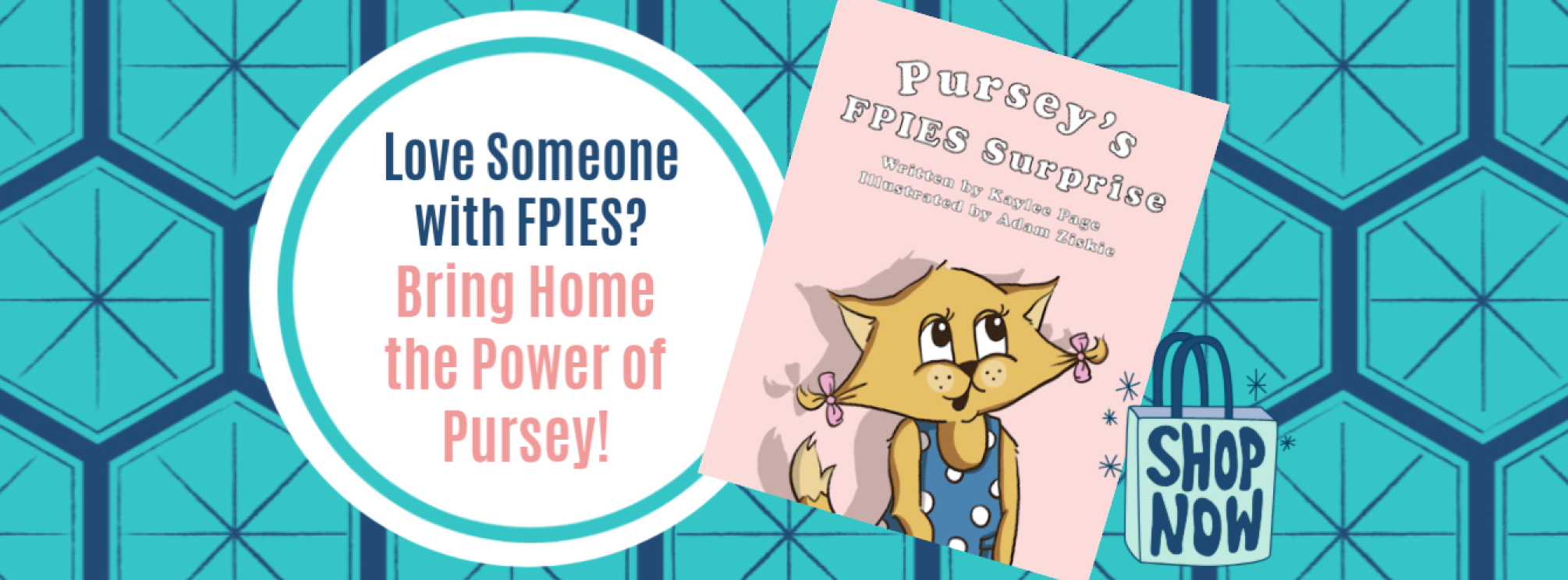 IFPIES Shop Pursey Pursey's FPIES Surprise Book by Kaylee Page