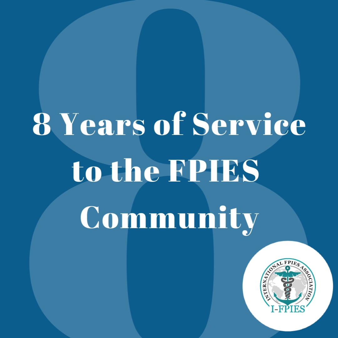I-FPIES Marks Our 8-Year Anniversary: You Make It Possible
